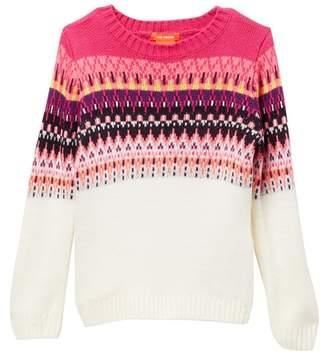Joe Fresh Fair Isle Sweater (Toddler & Little Girls)