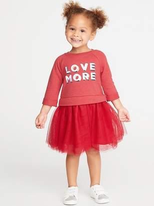 Old Navy Fit & Flare Tutu Dress for Toddler Girls