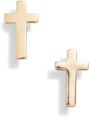 Kris Nations Cross Stud Earrings