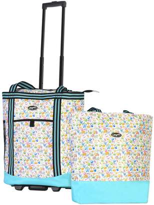 Olympia Insulated 2-Piece Shopper Tote Set