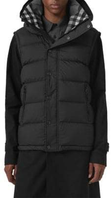 Burberry Hartley Hooded Down Puffer Coat