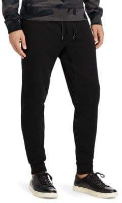 Polo Ralph Lauren Embroidered Double-Knit Jogger Pants