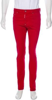 DSQUARED2 Overdye Skinny Jeans