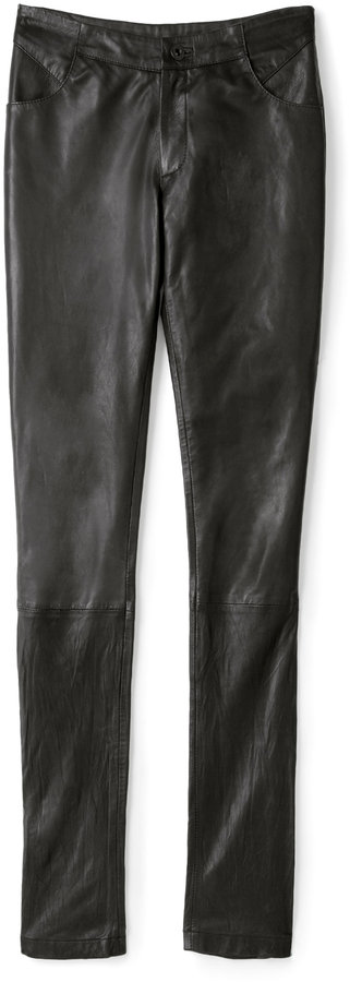 Sara Berman Demi Leather Skinny Pant