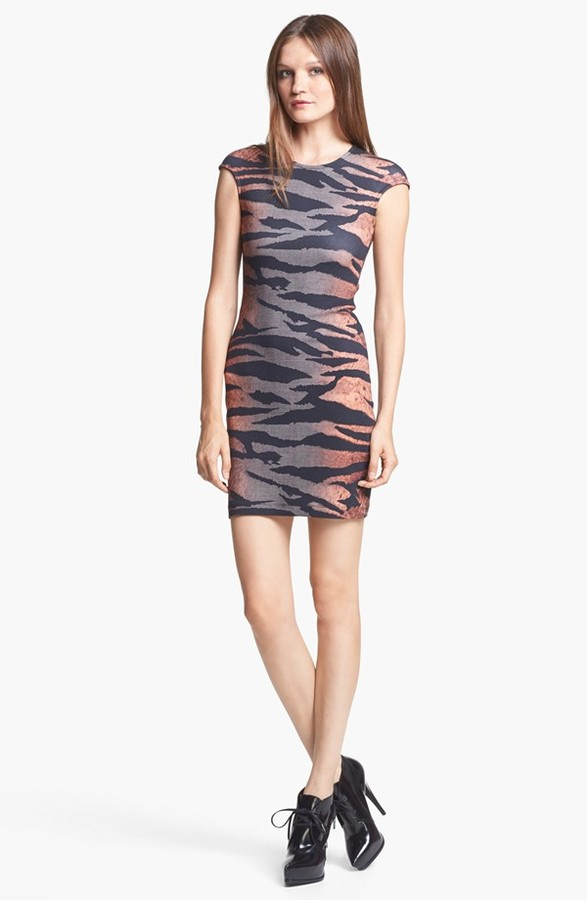 McQ by Alexander McQueen Tiger Print Dress