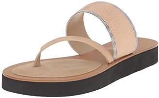 Delman Women's D-UNA-V Slide Sandal