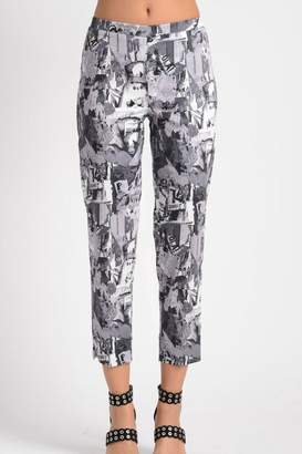 Lynn Ritchie Collage Cropped Pant