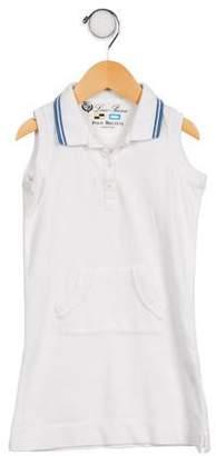 Loro Piana Girls' Sleeveless Polo Dress