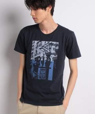 Ikka (イッカ) - ikka ロゴ&フォトプリントTシャツ
