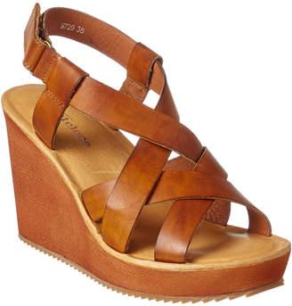 Antelope 729 Leather Wedge Sandal