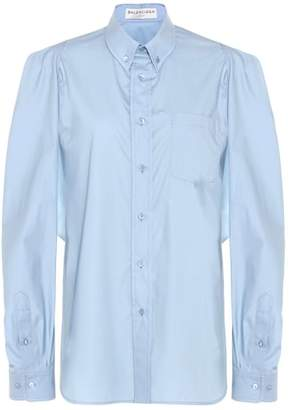 Balenciaga Cut-out shirt