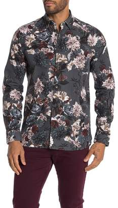 8eb709c1b Ted Baker Floral Print Slim Fit Shirt