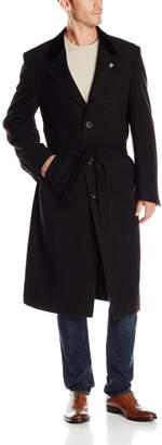 Stacy Adams Men's Lance Three Button Full Length Top Coat