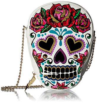 Betsey Johnson Head Case Crossbody