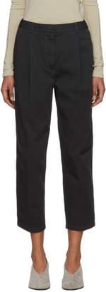 Acne Studios Black Tabea Co Chino Trousers