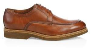 Saks Fifth Avenue COLLECTION Leather Contrast Sole Derby