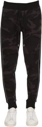 Moncler Cotton Camo Sweatpants