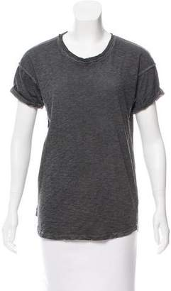 Laurence Dolige Distressed Short Sleeve T-Shirt