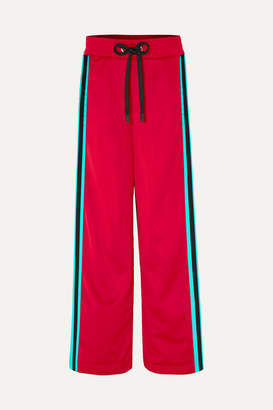 NO KA 'OI NO KA'OI Kai Kao Striped Satin-jersey Track Pants