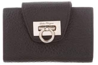 Salvatore Ferragamo Leather Key Wallet