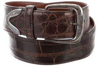 Ralph Lauren Alligator Buckle Belt