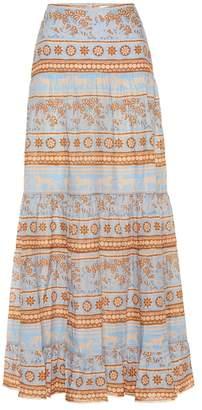 Johanna Ortiz Wales Surroundings voile maxi skirt