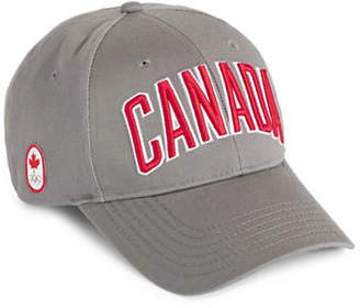 CANADIAN OLYMPIC TEAM COLLECTION Adult Canada Wordmark Ball Cap