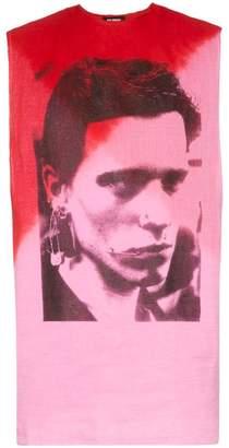 Raf Simons graphic print tank top