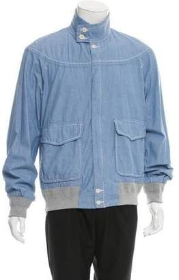Sacai Woven Shirt Jacket w/ Tags