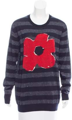 Markus Lupfer Printed Long Sleeve Sweater