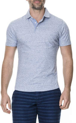 Rodd & Gunn Men's Bells Junction Heathered Polo Shirt