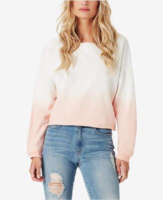 Jessica Simpson Juniors' Cotton Dip-Dyed Sweatshirt