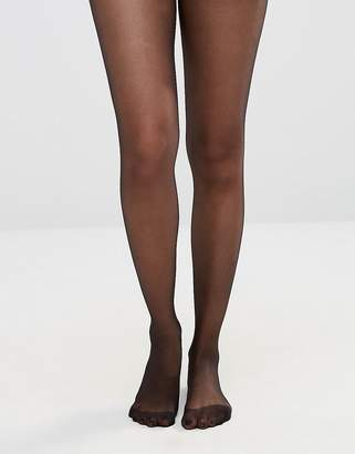 Asos DESIGN 15 denier black tights
