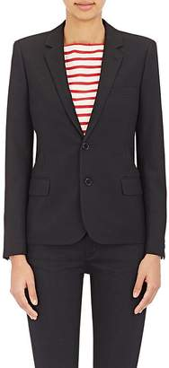 Saint Laurent Women's Twill Two-Button Blazer