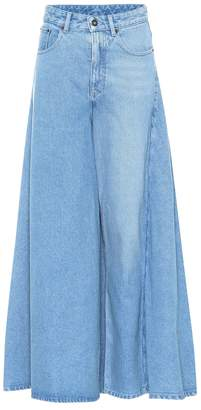 Y/Project Denim maxi skirt
