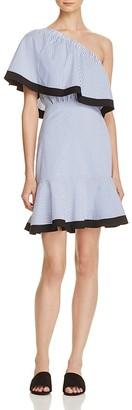 Lucy Paris Dakota One Shoulder Dress - 100% Exclusive $88 thestylecure.com