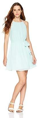 Amy Byer A. Byer Junior's Scalloped Edge Blouson Dress