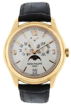 Patek Philippe Calatrava 3520DJ-001 White Roman Dial Mens Watch $16,995 thestylecure.com