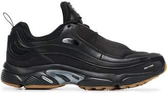Reebok black daytona dmx sneakers