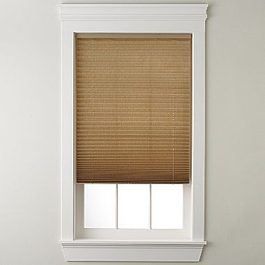 JCPenney jcp homeTM Textured Cordless Pleated Shade