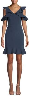 Rachel Zoe Delia Cold-Shoulder Dress