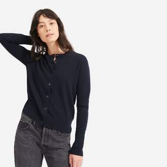 Everlane The Cashmere Crew Cardigan