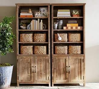 Pottery Barn Parker Double Bookcase