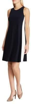 Lauren Ralph Lauren Two-Tone A-Line Dress