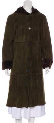 Michael Kors Shearling Long Coat