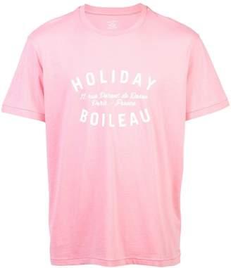 Holiday crew neck T-shirt