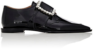 Maison Margiela Women's Oversized-Buckle Oxfords-BLACK $1,395 thestylecure.com