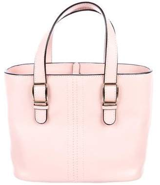 Valextra Leather Mini Tote