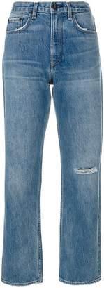 Rag & Bone ripped knee boyfriend jeans