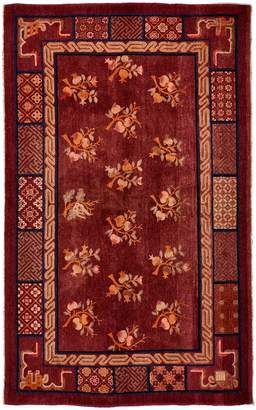 """ABC Home Vintage Chinese Wool Rug - 4'6""""x7'3"""""""